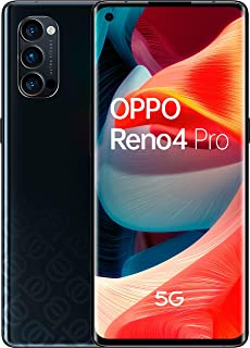 OPPO Reno4 Pro 5G Dual-SIM 256GB Factory Unlocked Android Smartphone (Space Black) - International Version