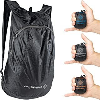Diamond Head Equipment   Pali 20L Daypack   Ultralight Packable Hiking Backpack   2.3 Ounces   Designed in Hawaii