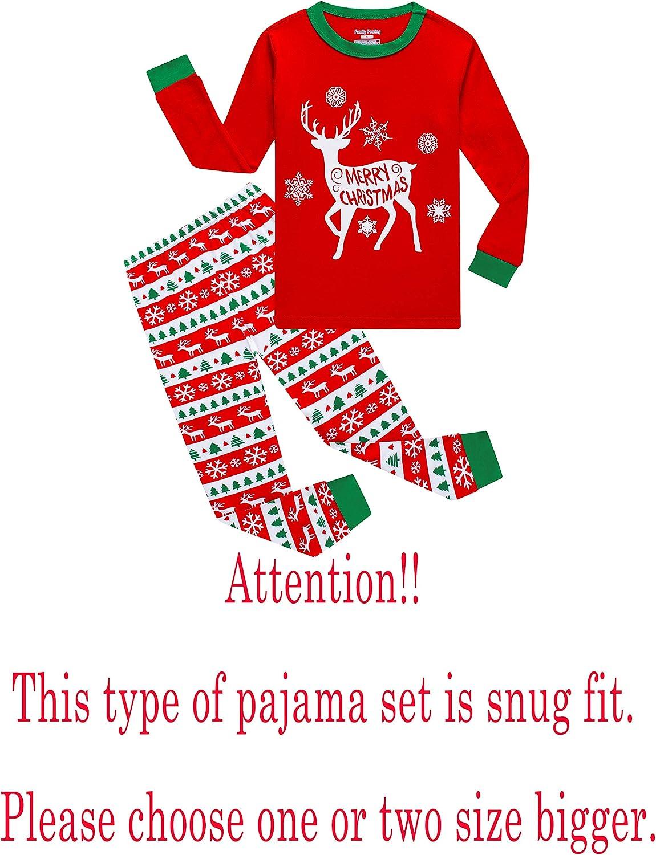 Matching Family Pajamas Christmas Sleepwear Cotton Holiday Pjs