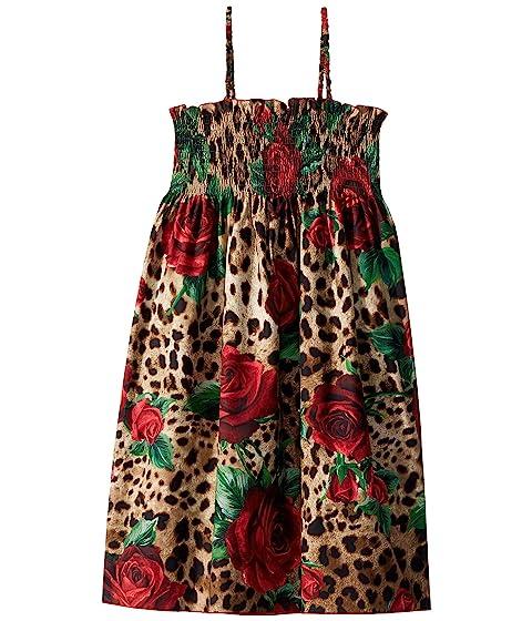 Dolce & Gabbana Kids D&G Leo Swimsuit Cover-Up Dress (Big Kids)