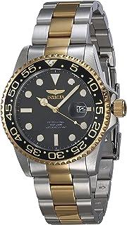 Invicta 33255 Men's Pro Diver Black Dial Two Tone Bracelet Watch