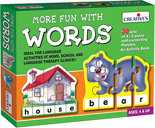 Creative Educational Aids P. Ltd. More Fun With Words Puzzle (Multi-Color) product image