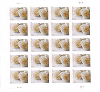 white rose stamps
