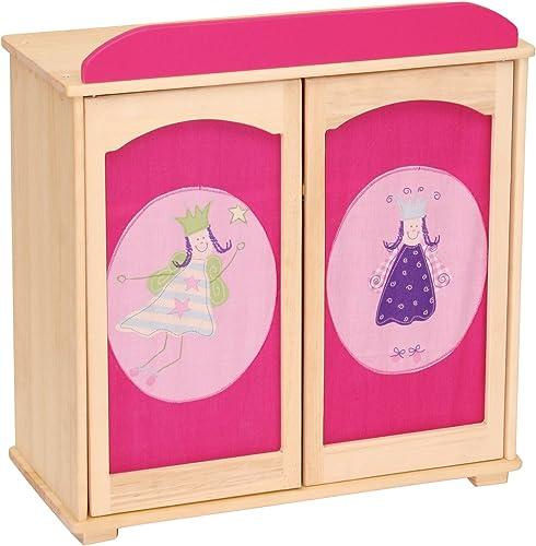 Envío 100% gratuito Roba-kids - Armario de muñecas, muñecas, muñecas, Diseño Happy Fee, multiColor (Roba Baumann 98030-2)  deportes calientes
