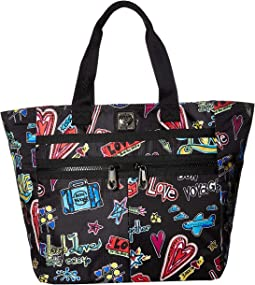 Love Scribble Lock it Super Tote