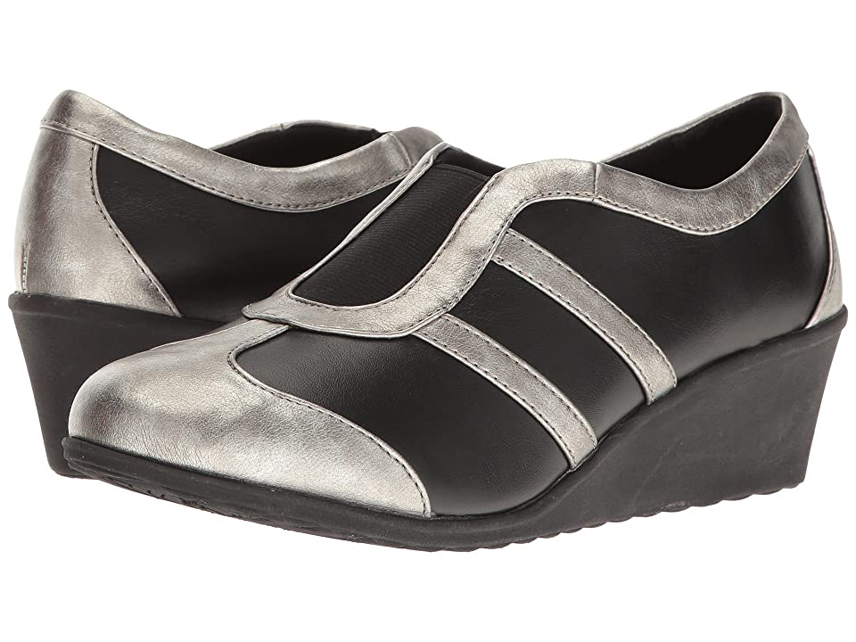 Soft Style Mallorie (Black/Pewter) Women