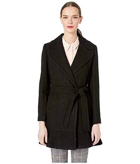 Kate Spade New York Belted Wool Twill Coat