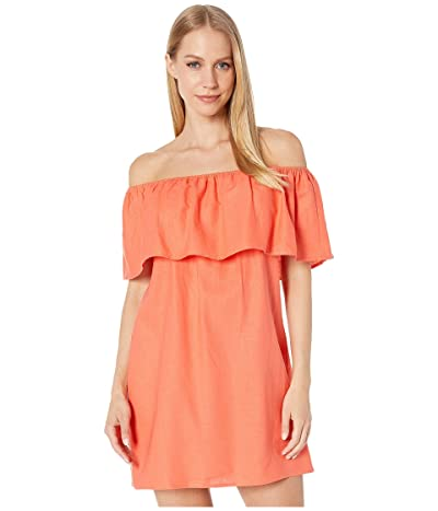 Show Me Your Mumu Can Can Dress (Coral Linen) Women