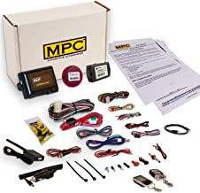 MPC Complete 2-Way LCD Remote Start Kit with Keyless Entry for 2014-2017 Honda Odyssey - Works Both Slider Doors