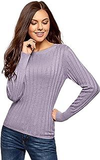 Daily Ritual Long-Sleeve Crewneck suéter Morado Lilac, X-Small amazon-brands violeta