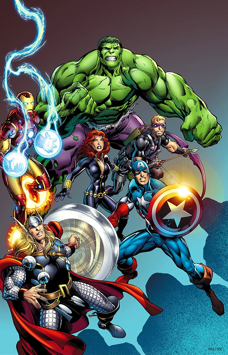 Marvel Avengers Assemble  3  Petite Canvas