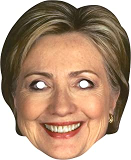 Forum Novelties Hillary Clinton Celebrity Politician Card Face Paper Mask