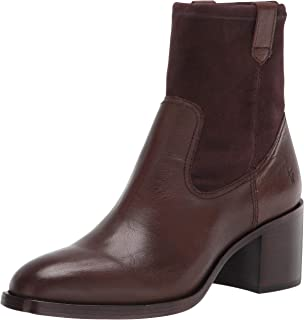 Frye Women's Monroe Stretch Bootie Ankle Boot, Truffle, 7