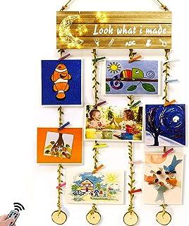 Hsuner Hanging Artwork Display Kids Gifts - Look What I...
