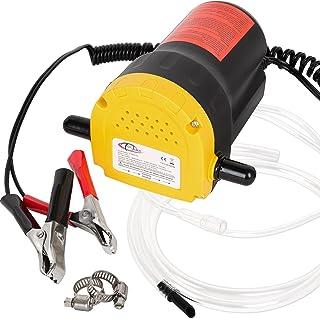 TecTake Bomba extractora de aceite eléctrica para coche 12V
