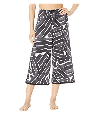 Donna Karan Printed Sleep Pants (Black Print) Women