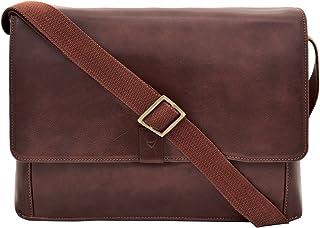 Hidesign Aiden Genuine Leather 15 Inch Laptop Shoulder Messenger Business Bag for Men & Women