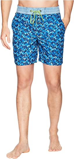 Robert Graham Santa Maria Woven Swim Trunk