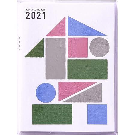 高橋 家計簿 2021年 A6変型 ミニ家計簿 No.27 (2020年 12月始まり)