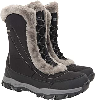 Mountain Warehouse Ohio Womens Winter Snow Boots - Ladies Warm Shoes