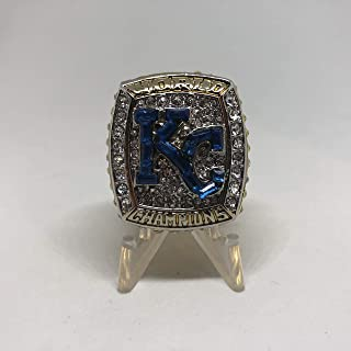 Owner David Glass Kansas City Royals High Quality Replica 2015 World Series Ring Size 11.5 -Gold Colored