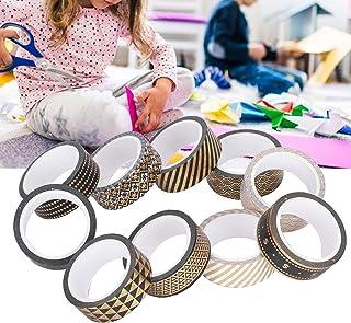 Washi Tape, Paper Tape Mild Adhesive Simple för DIY Enthusiast för fotoramar dagböcker, mobiltelefonfodral, kosmetika och ...