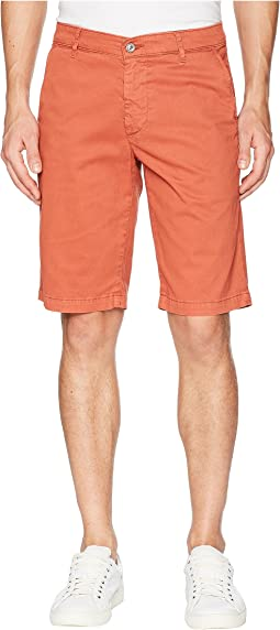 AG Adriano Goldschmied - Griffin Shorts in Sulfur Rosso Red