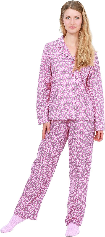 Cozy Curious Women's Sleepwear Set Oklahoma Memphis Mall City Mall 3-Piece Pajama Top