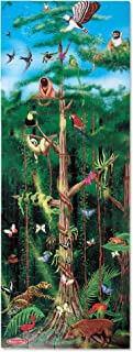 """Melissa & Doug Rainforest Floor Puzzle (Easy-Clean Surface, Promotes Hand-Eye Coordination, 100 Pieces, 48"""" L x 18"""" W, Great Gift for Girls and Boys - Best for 3, 4, 5, and 6 Year Olds)"""