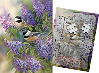 Keeping Busy Chickadee Duo 35 Piece Sequenced Jigsaw Puzzle Engaging Activities / Puzzles / Games for Dementia and Alzheimer's for Older Adults