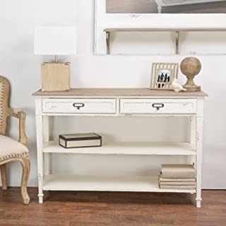 Baxton Studio Dauphine Traditional French Accent Console Table, 31.75