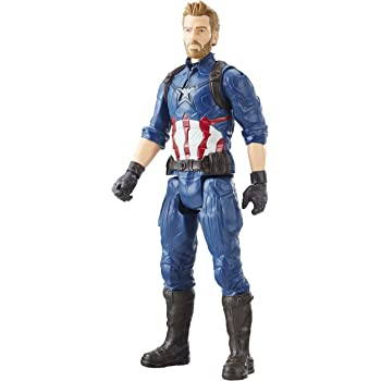 Marvel- Figura Titan Hero Series Infinity War, Capitan America ...