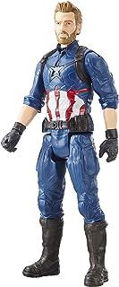 AVENGERS E1421EL2 Marvel Infinity War Series Captain America with Titan Hero Power FX Port Figure