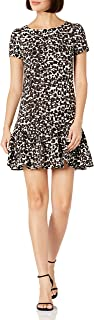 Women's Flounce Hem Sheath Dress