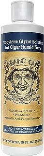 Habano Care - Premium Cigar Humidor Solution 16 oz Cigars Humidifier Humidification Pre-Mixed 50/50 Propylene Glycol