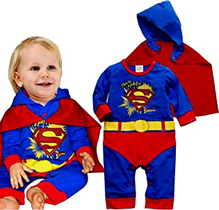 Baby Superhero Jumpsuit
