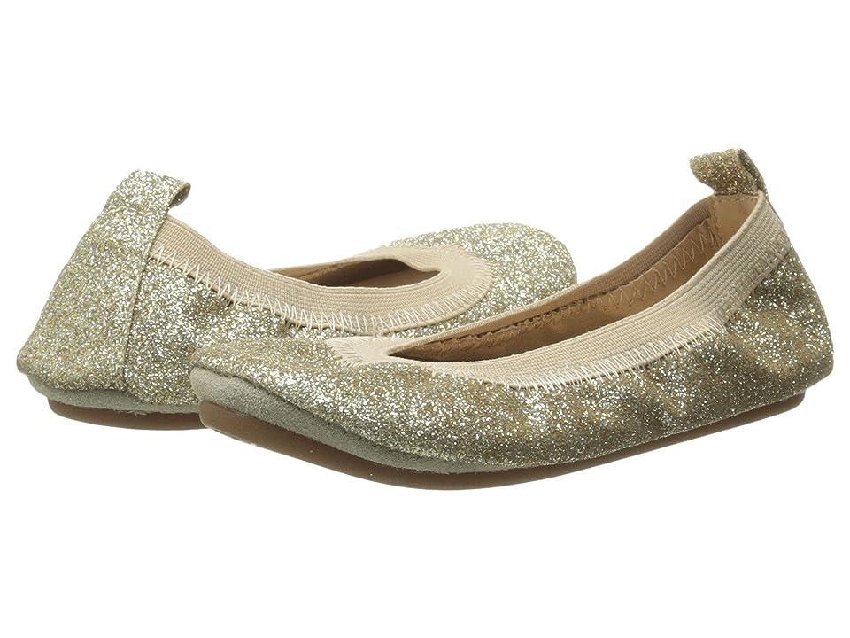 Yosi Samra Kids Sammie Super Soft Ballet Flat (Toddler/Little Kid/Big Kid) (Gold Glitter) Girls Shoes