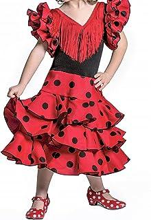 Vestido de niña para Danza Flamenco o sevillanas