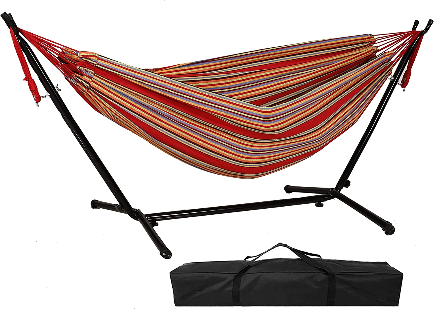 Hammock San Francisco Mall with Discount mail order Stand Portable Double Outd Indoor Patio for