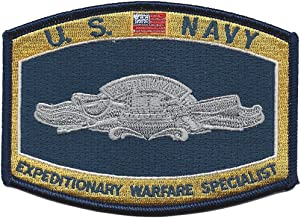 Navy Expeditionary Warfare Specialist Patch