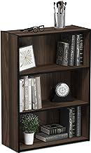 Furinno 11208CWN Pasir 3-Tier Open Shelf Bookcase, Columbia Walnut