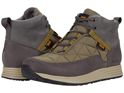 Teva Ember Commute Waterproof (Grey/Olive) Men