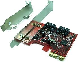 Ableconn PEX-SA115 2-Port SATA 6G PCI Express Host Adapter Card – AHCI 6Gbps SATA..