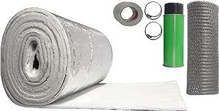 Rockford Chimney Supply Chimney Liner Insulation Blanket Kit, 3 to 6 Inch Diameter x 25 Feet
