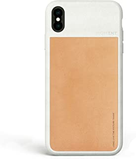 iPhone Xs Max Case || Moment Photo Case - Thin, Protective, Wrist Strap Friendly case for Camera Lovers. Beige 311-107