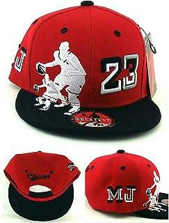 a258392b48538b GREATEST PRODUCTS Chicago New Greatest 23 Legend Jordan Bulls Red Black MJ  Dribbler Era Snapback Hat