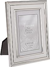 إطارات لورانس إطار صورة معدني مطلي بالفضة، لوحة داخلية فضية مصقولة 5 by 7-Inch 840057