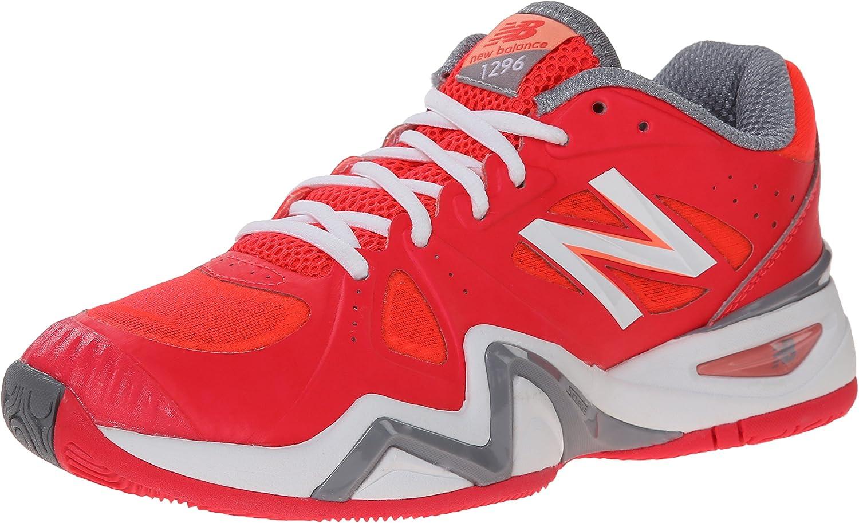 New Balance Women's WC1296 Stability Tennis shoes-W White bluee
