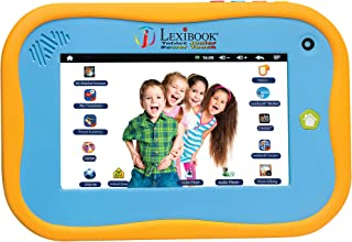 Lexibook Tablet Junior 2 Android tablet for children 7'' touch screen WI-FI Pack Deezer Premium Cartoon video store Educat...
