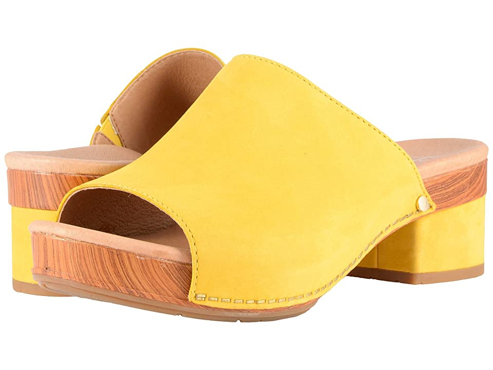 Dansko Maci (Yellow Milled Nubuck) Women